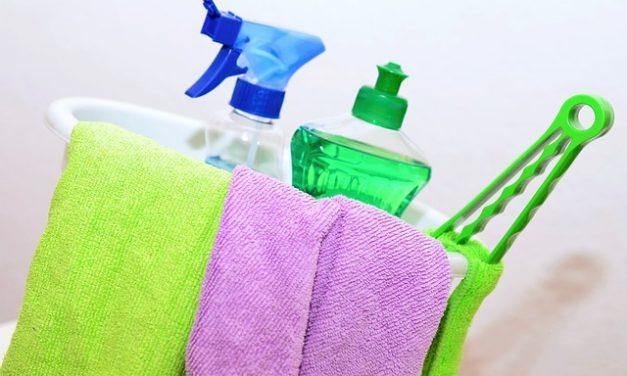 Jsou běžné čistící přípravky skutečně neškodné?