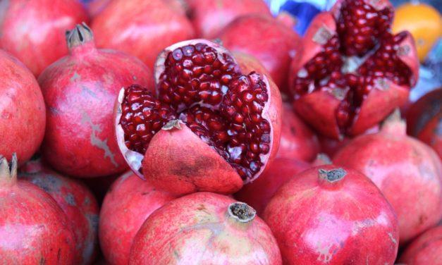 Tajemství věčného mládí a krásy. Granátové jablko.
